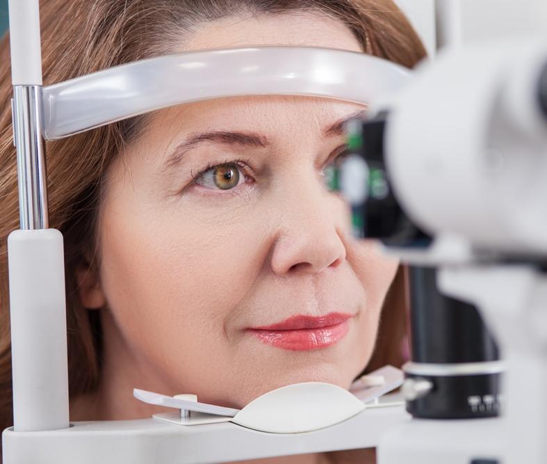Operación lente intraocular