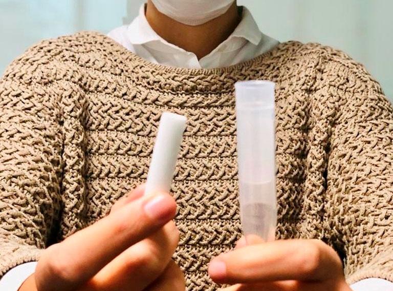 Test PCR en Saliva a Domicilio